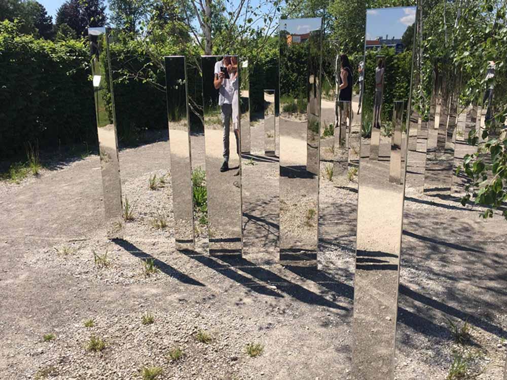Installationen auf der Landesgartenschau 2017 Perfect Mirror No. 10®