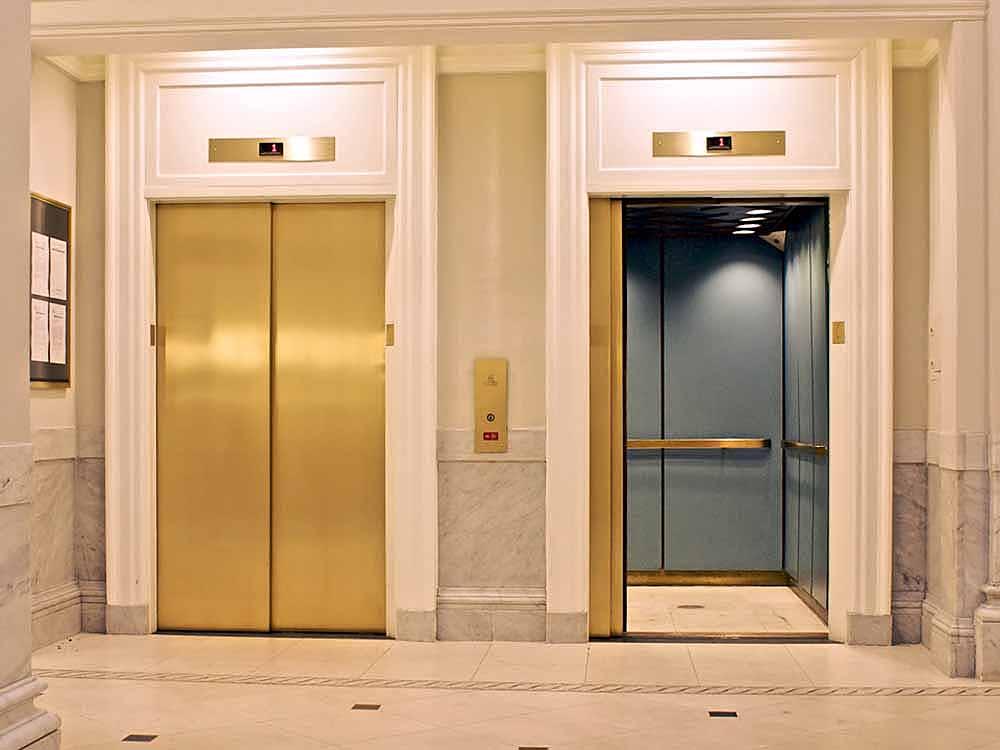 Application Ascenseur HAIRLINE Gold-TiN