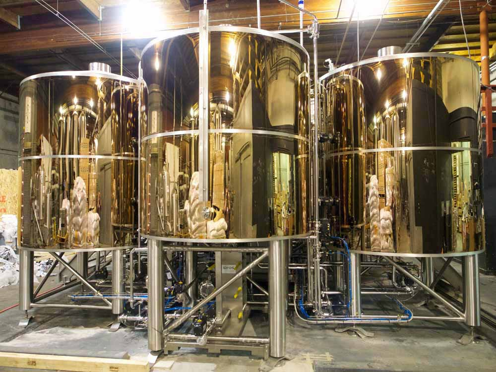 Application Brewery Kettle Super Mirror No. 8 Rose Gold-TiN