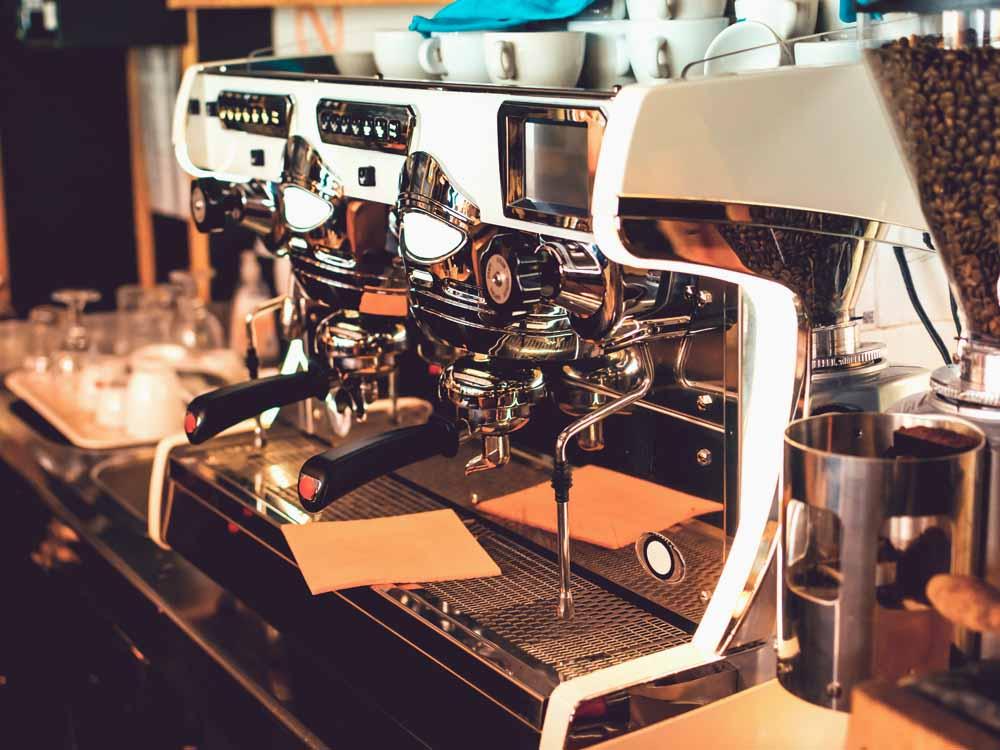 Application Machine à café Super Mirror No. 8 Gold-TiN