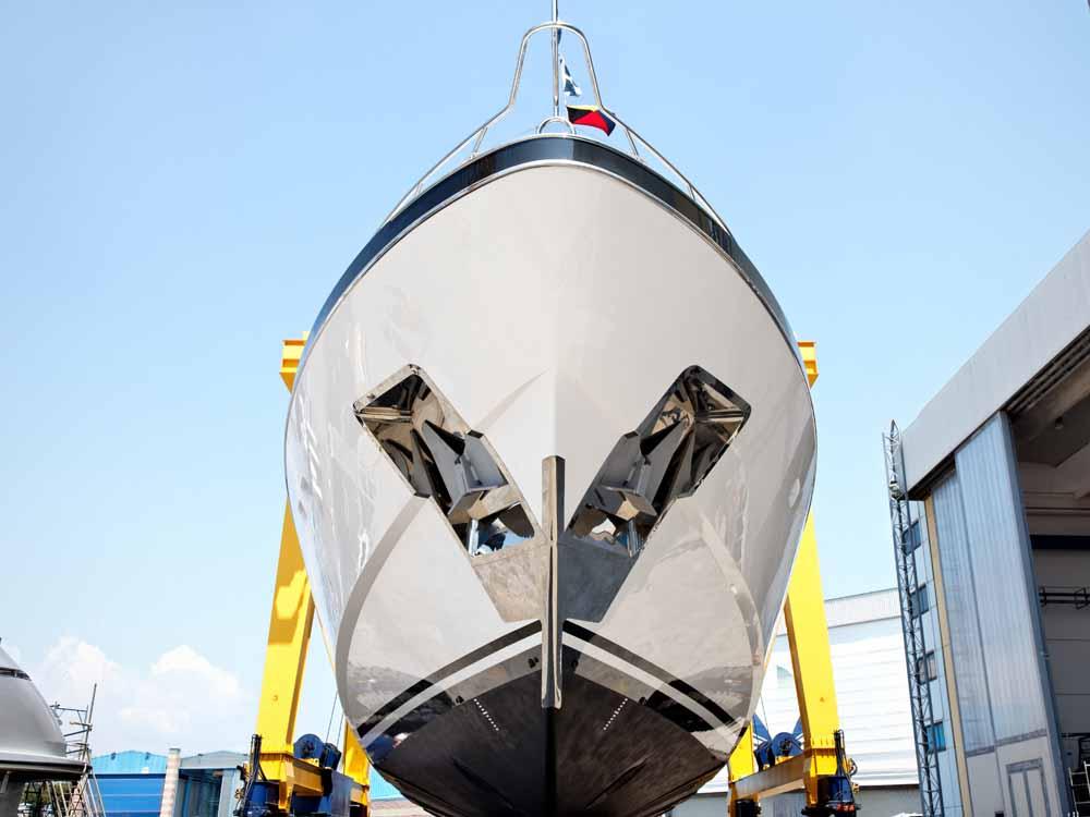 Anwendung Schiffsbau Ankertaschen Marine Mirror No. 9